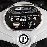 PITUSO: Электромотоцикл HLX2018, 6V/7Ah White/Белый (музыка,свет) HLX2018, фото 2