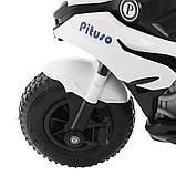 PITUSO: Электромотоцикл HLX2018, 6V/7Ah White/Белый (музыка,свет) HLX2018, фото 5