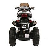 PITUSO: Электромотоцикл HLX2018, 6V/7Ah White/Белый (музыка,свет) HLX2018, фото 6