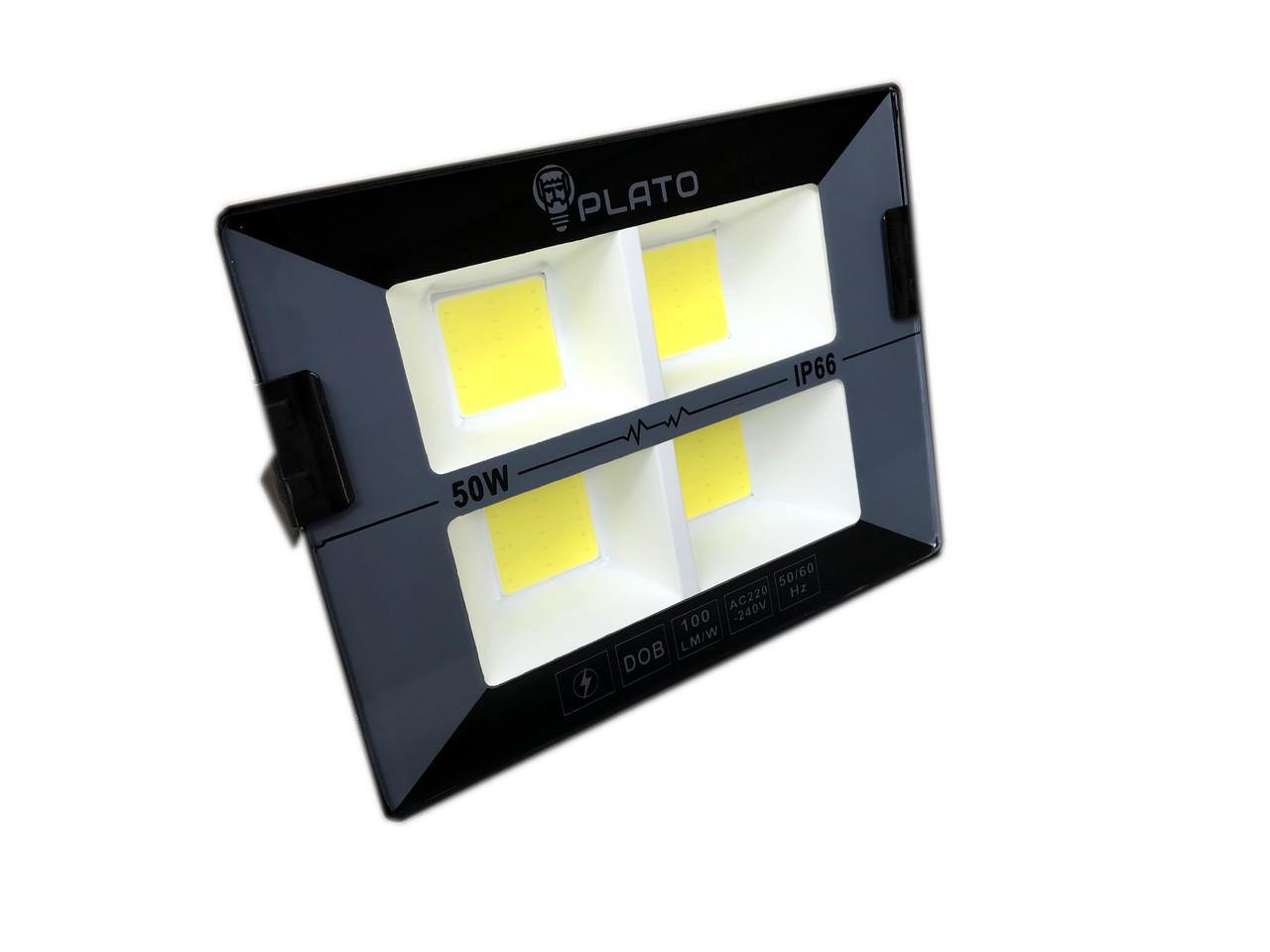 Светодиодный прожектор PLATO 50 W, 6500K
