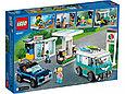 60257 Lego City Станция технического обслуживания, Лего Город Сити, фото 2