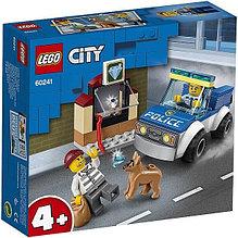 60241 Lego City Полицейский отряд с собакой, Лего Город Сити
