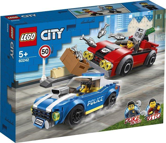 60242 Lego City Арест на шоссе, Лего Город Сити
