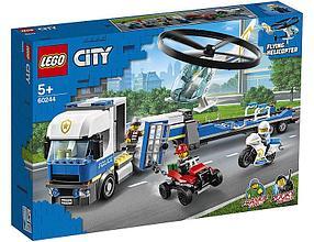 60244 Lego City Полицейский вертолётный транспорт, Лего Город Сити