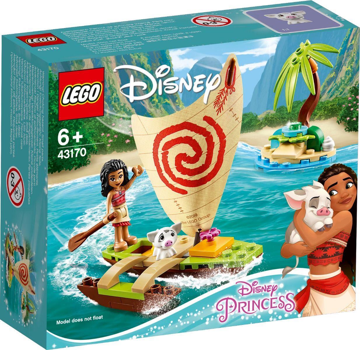 43170 Lego Disney Princess Морские приключения Моаны, Лего Принцессы Дисней