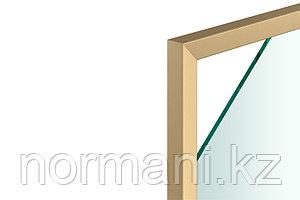 Профиль рамочный узкий FP.03_19x20мм, L=3000мм, отделка золото