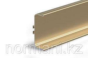 Gola Профиль горизонтальный с двумя закруглениями L=4100мм, отделка золото матовое шлифованное