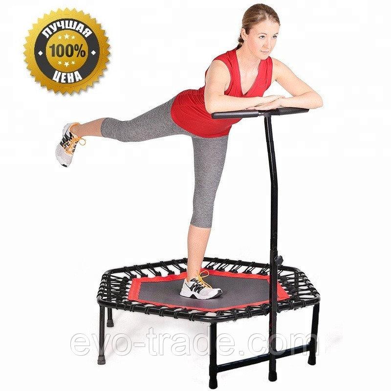 Батут для фитнеса Get Jump Red диаметром 120 см