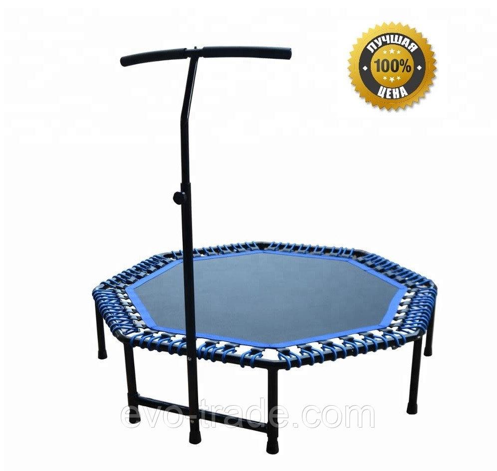 Батут для фитнеса Get Jump Blue диаметром 120 см