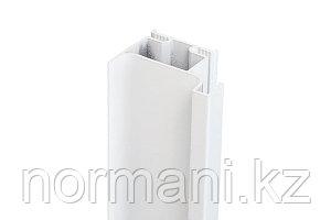 Gola Профиль вертикальный боковой, для 16мм ДСП, L=4500мм отделка белая