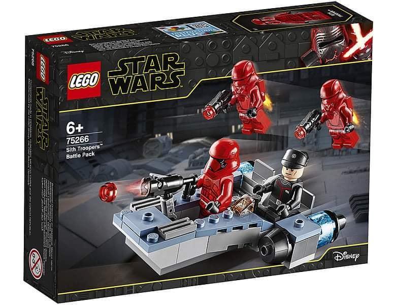 75266 Lego Star Wars Боевой набор: штурмовики ситхов, Лего Звездные Войны