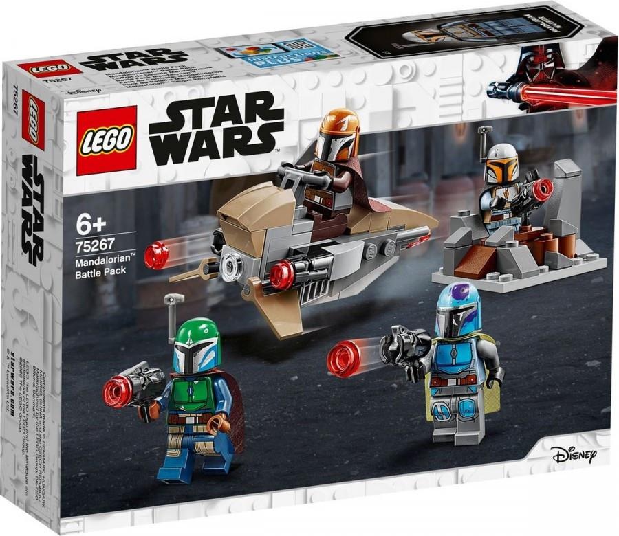 75267 Lego Star Wars Боевой набор: мандалорцы, Лего Звездные Войны