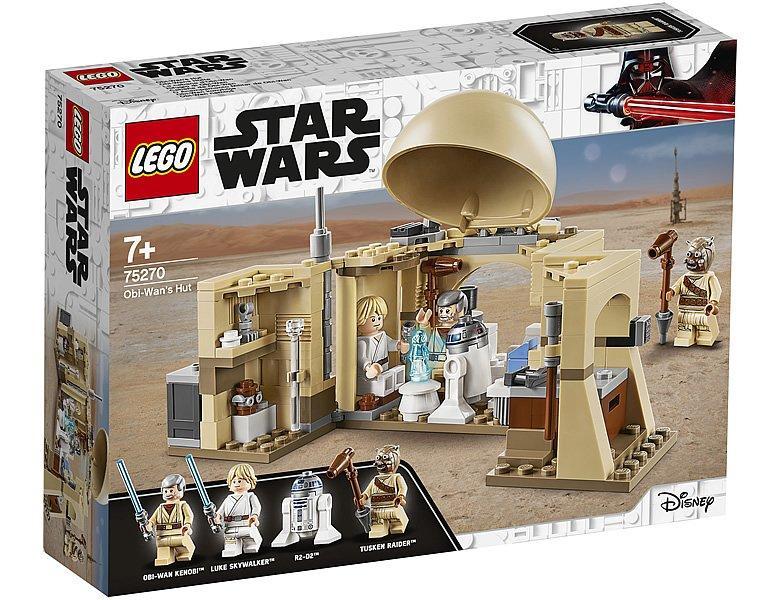 75270 Lego Star Wars Хижина Оби-Вана Кеноби, Лего Звездные Войны