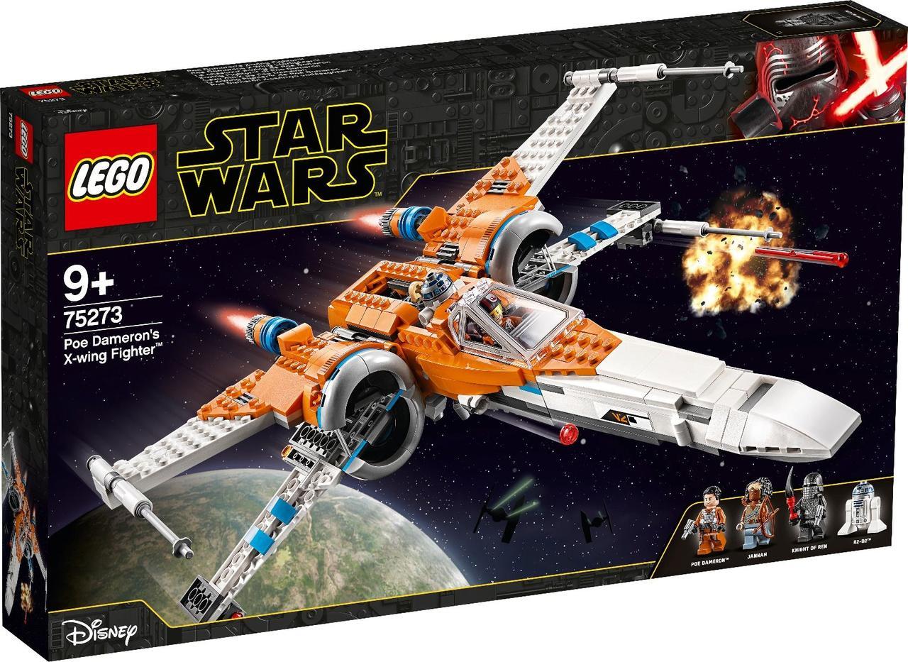75273 Lego Star Wars Истребитель типа Х По Дамерона, Лего Звездные Войны