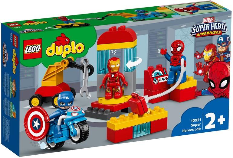 10921 Lego Duplo Лаборатория супергероев, Лего Дупло