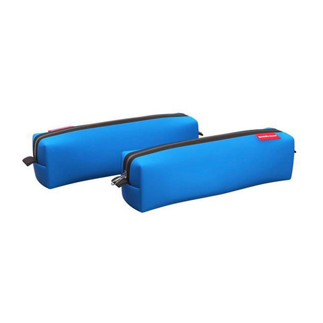 Пенал квадро mini ErichKrause® 210x50x50мм Lilac