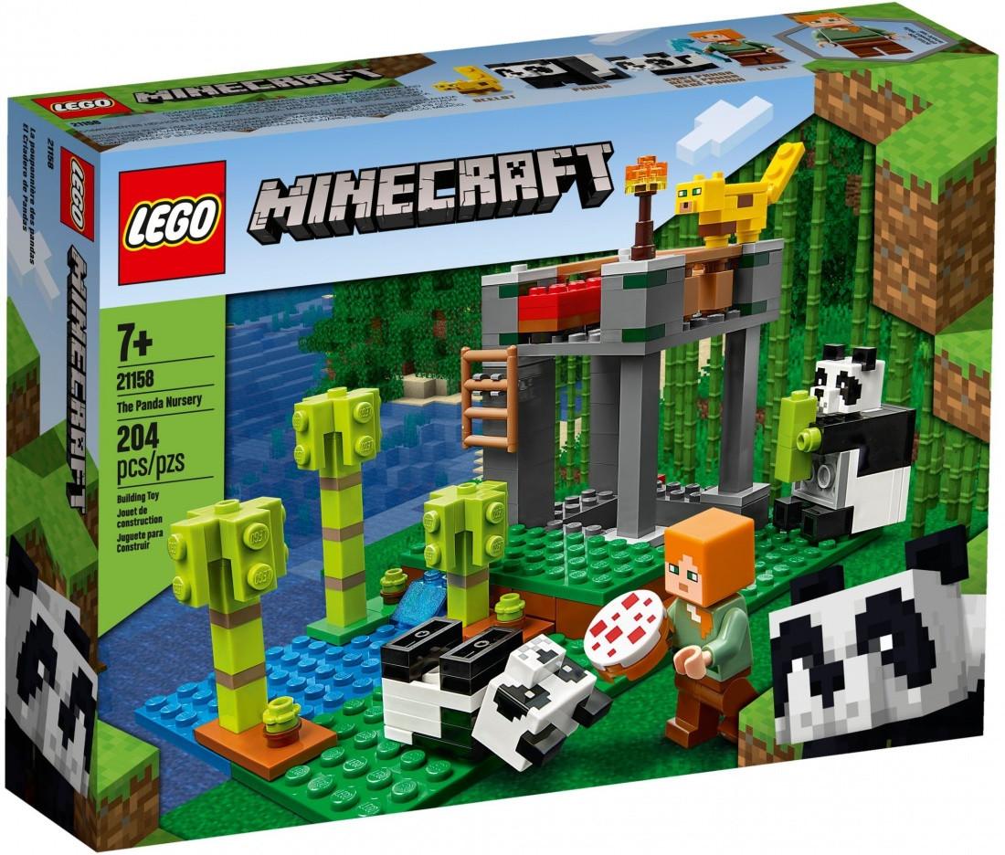 21158 Lego Minecraft Питомник панд, Лего Майнкрафт