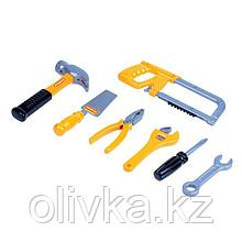 Набор инструментов №14, 7 элементов, в пакете, цвета МИКС