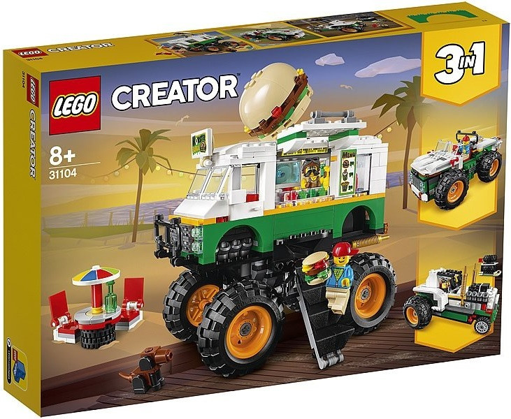 31104 Lego Creator Грузовик «Монстрбургер», Лего Креатор
