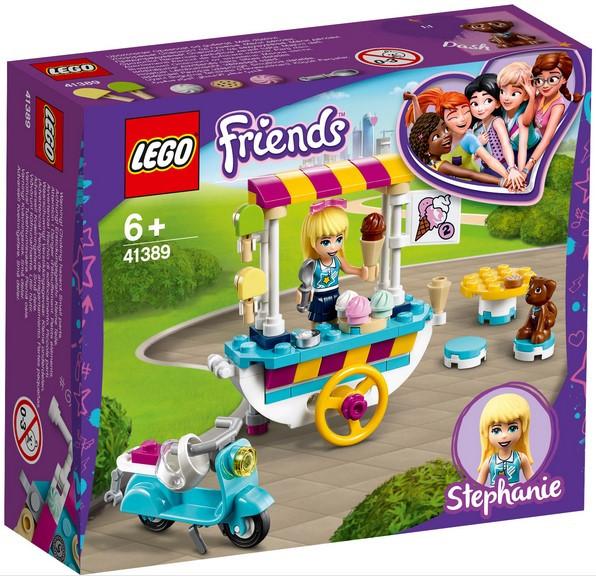 41389 Lego Friends Тележка с мороженым, Лего Подружки