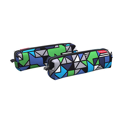 Пенал квадро mini ErichKrause® 210x50x50мм Geometry, фото 2
