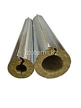 Цилиндры и полуцилиндры IZOTERM  с покрытием армированной алюминиевой фольгой