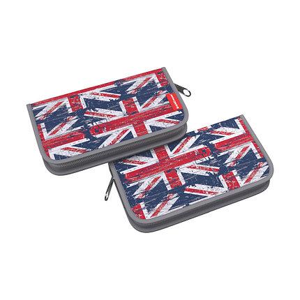 Пенал-книжка без наполнения ErichKrause® 110x205x25мм British Flag, фото 2