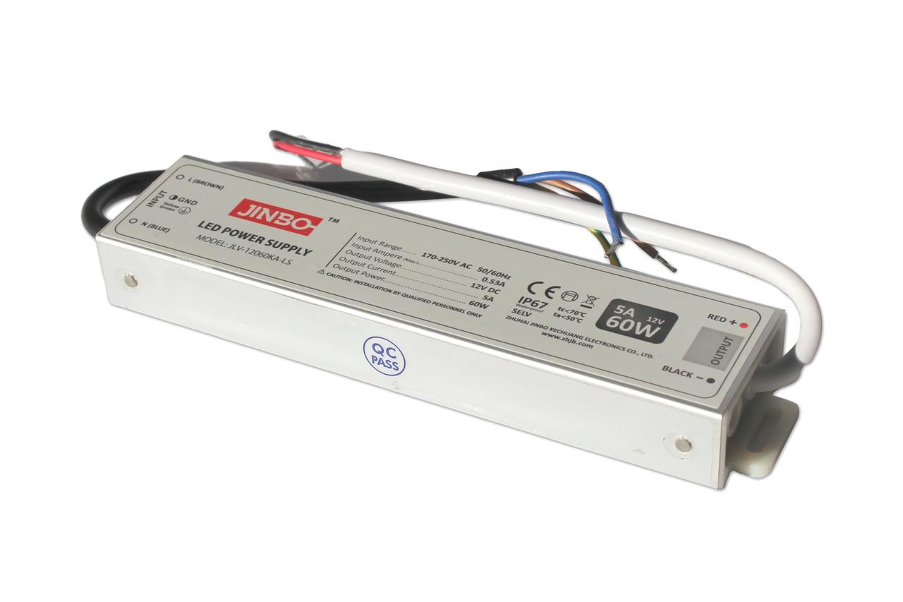 Трансформатор 60W slim для тонких лайтбоксов
