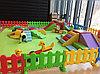 Детский игровой заборчик низкий, секционный (1 метр), фото 2