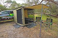 Палатка + москитка к тенту. С полом. 2 метра * 2.5 метра - IRONMAN 4X4