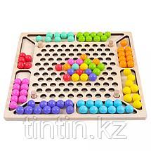 Деревянная шариковая мозаика, фото 2