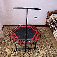 Батут для джампинга Get Jump Red с нагрузкой до 120 кг