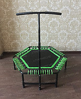 Батут для джампинга Get Jump Green с нагрузкой до 120 кг