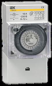 Таймер ТЭМ 181 аналоговый 16А 230В на DIN-рейку