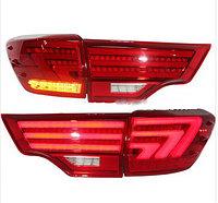 Задние фары на Toyota Highlander в стиле BMW Type 2