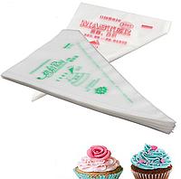 Мешки кондитерские одноразовые размер M (33 см), 100 шт