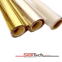 Глянцевая металлизированная пленка RESPECT (золото - #9281,9286 ; серебро - #9288)