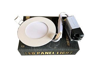 Круглый встраиваемый LED светильник PLATO 3 W