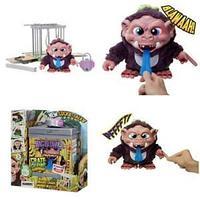 Монстр Наннерс в ящике за решеткой Интерактивная игрушка Crate Creatures Nanners со светом и звуком