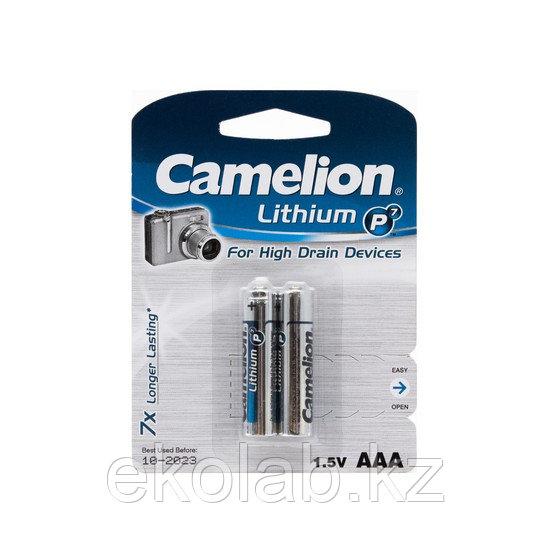 Батарейка CAMELION Lithium P7 FR03 2 шт