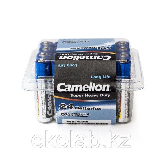 Батарейка CAMELION Super Heavy Duty R03P-PB24B 24 шт