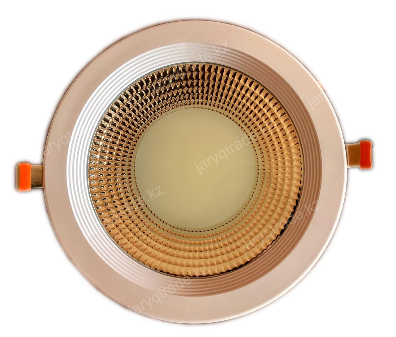 Круглый встраиваемый LED светильник PLATO 30 W