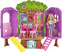 Mattel Barbie игровой набор Домик Челси на дереве, фото 1