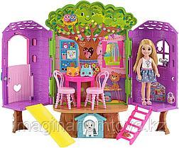 Mattel Barbie игровой набор Домик Челси на дереве