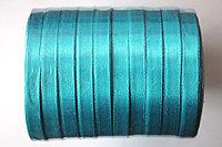 Лента атласная (морская волна 047) 10 мм. - 25 ярдов (22,8 метра)