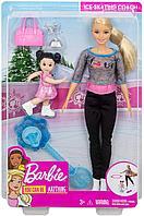 Барби Инструктор по фигурному катанию игровой набор Barbie, фото 1