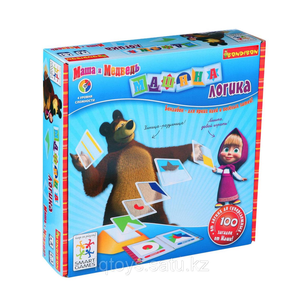 Настольная игра Машина логика Бондибон (Bondibon)