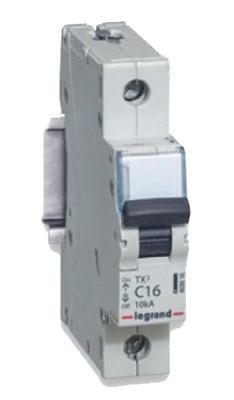 Legrand 403916 Авт.выкл.TX3 C16А 1П 6000/10kA