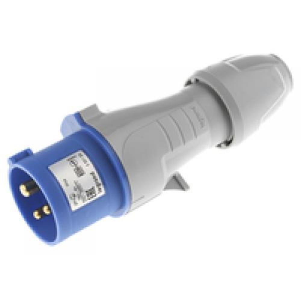 Legrand 555124 Вилка моб. 16А 2К+З 230В IP44