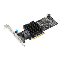 Контроллер ASUS PIKE II 3108-8-8I-port Internal SAS12G RAID Card 1GB Cache   90SC06G0-M0UAY0